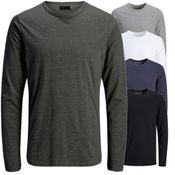 Jack & Jones Basic O-Neck Tee Mehrpack 4er  L/S Noos - 8441