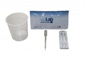 möLab BTM Blasen Tumor Marker Test im Urin, 10 Testkassetten
