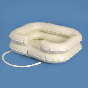 AQUASAFE Kopfwaschbecken, aufblasbar, für die Haarwäsche im Bett