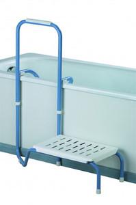 Kombination Trethilfe und Haltegriff rechte Seite für die Badewanne