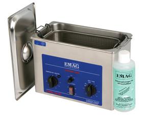 EMMI 40 HC Ultraschallreiniger, 4000 ml Edelstahl, Labor Werkstatt,  Ablaufhahn