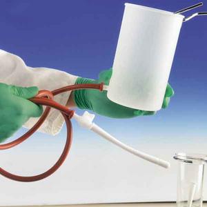 Kunststoffirrigator, Irrigator Kunststoffl, 1,0 L Klistier Einlauf,