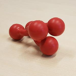 Haltefix Gnubbel rot der praktische elastische Helfer für Haushal Werkstatt Pflege
