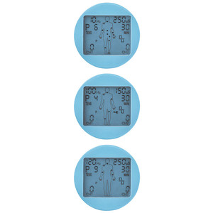 TENS / EMS Kombigerät, Schmerztherapie Muskelstimulation Massage, mit Elektroden