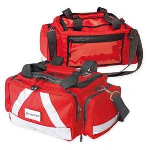 Erste Hilfe Notfall Tasche, Notfalltasche  Wasserstopp   leer, rot, klein