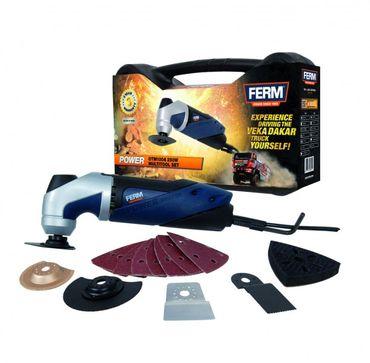 FERM OTM1004 - Multiwerkzeug 250W inkl. 15-tlg Zubehör