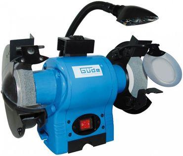 Güde 55121 GDS 150 L Doppelschleifer mit Leuchte Schleifgerät Schleifbock 370W