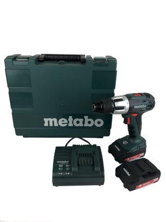 Metabo 602103510 SB 18LT Compact Akku-Schlagbohrmaschine 2x 2Ah Akku + Koffer