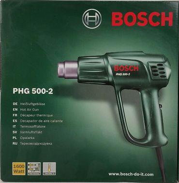 Bosch PHG 500-2 Heißluftpistole 060329A003 - 1600W Heißluftgebläse Thermostop