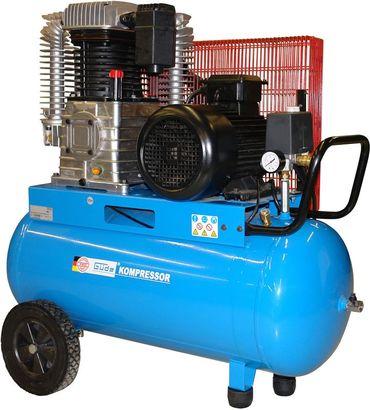 GÜDE 75530 Kompressor 805/10/100 PRO 4,0kW 4000W Druckluftkompressor