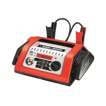 Black&Decker BD-SBC 10A Batterieladegerät Überhitzungsschutz Digitales Display -4 Stufen