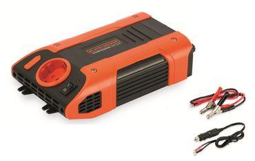 Black&Decker Wechselrichter 500W PL Turbo Kühlsystem LED Anzeige Softstart