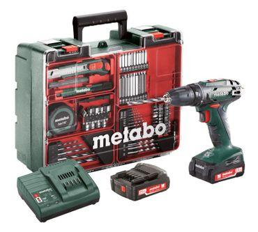 Metabo 602206880 BS14,4 Set Akku-Bohrschrauber 18V 2x2Ah Li-on Mobile Werkstatt
