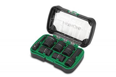 Hitachi 7 tlg. Kraftstecknussbox 40018012 1/2 Zoll Vierkant TOP! NEU!