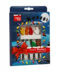 Vacu Vin Snack-Marker-Set - Christmas Crowd, 8-teilig