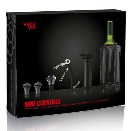 Vacu Vin Geschenkset Wine Essentials, 6-teilig