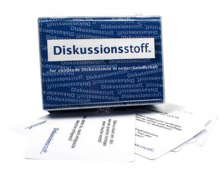 Gesprächsstoff - Diskussionsstoff