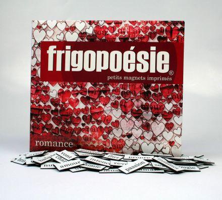 Magnetwörter Französisch - Frigopoésie romance