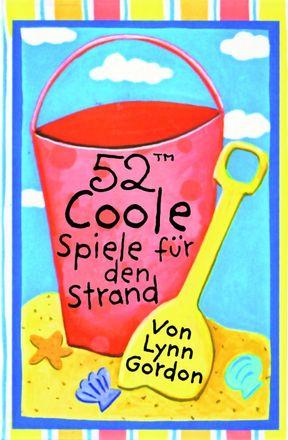 Karten-Set - 52 coole Spiele für den Strand