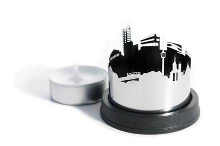 dekoop Teelichthalter Stadtlicht Stuttgart