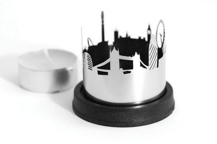 dekoop Teelichthalter Stadtlicht London