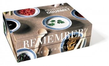 Remember Memospiel groß - Gourmet, 44 Kartenpaare