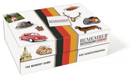 Remember Memospiel groß - Deutschland, 44 Kartenpaare