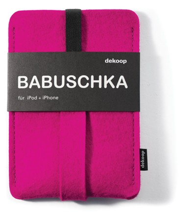 dekoop Handyhülle - Babuschka groß - pink