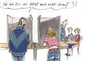 Postkarte - ADAC