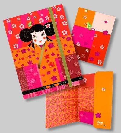 Pylones Schnellhefter - Sammelmappe DIN A5 - Akademic, Kimono