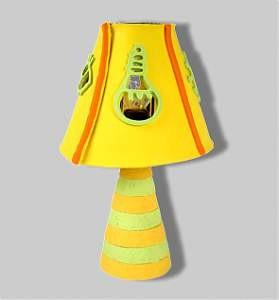 Pylones Tischlampe - Lolatchouc gelb