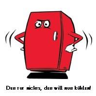 sticky jam Kühlschrankmagnet - Der tut nichts