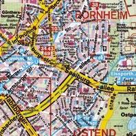 sticky jam Kühlschrankmagnet - Frankfurt Bornheim