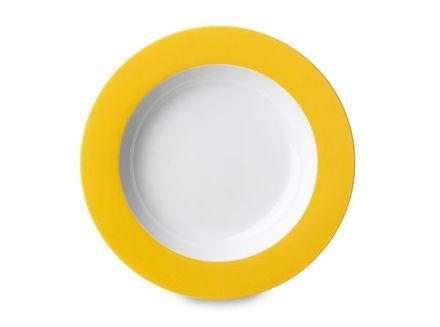 Rosti Mepal Suppenteller - Wave gelb