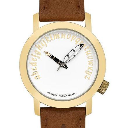 Akteo Armbanduhr - Schriftsteller gold