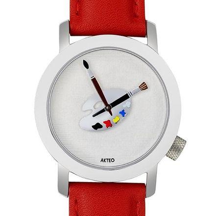Akteo Armbanduhr Malerei 02