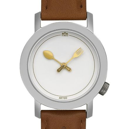 Akteo Armbanduhr Gastronomie 01 silber