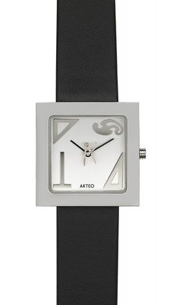 Akteo Armbanduhr Architekt kubik