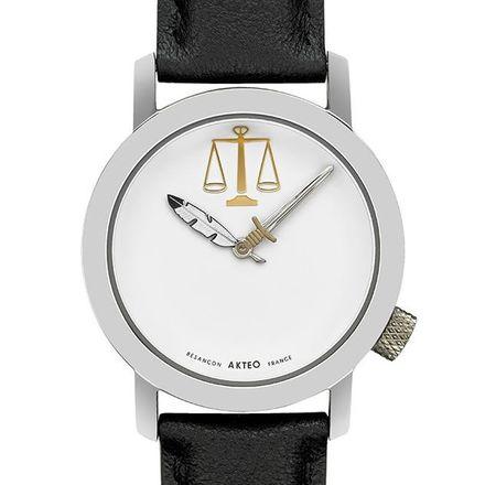 Akteo Armbanduhr Justiz silber