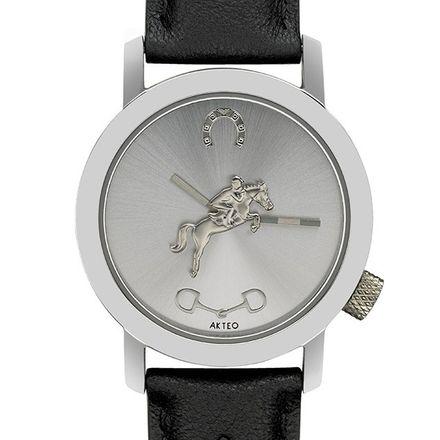 Akteo Armbanduhr - Reitsport silber
