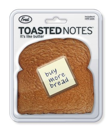 Fred Haftnotiz-Halter - Toasted Notes