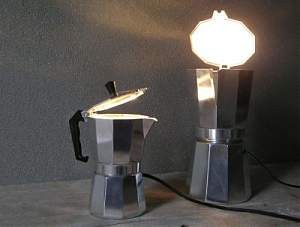 Tischlampe - Espresso light