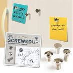 Fred Magnet-Set - Screwed-up, 4-teilig