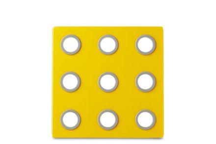 Rosti Mepal Topf-Untersetzer Domino gelb