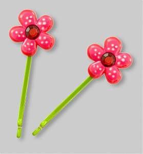 Pylones Haarspangen-Set - Blume, 2-teilig