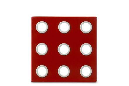 Rosti Mepal Topf-Untersetzer Domino Luna rot