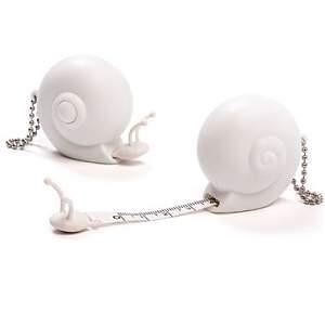 Ototo Maßband Schnecke - Snail weiß