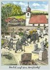 Postkarte - Nordfriedhof