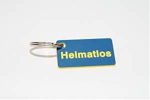 sticky jam Schlüsselanhänger - Heimatlos