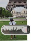 dekoop Lesezeichen - Stadtmarke Paris